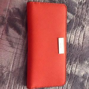 Henri Bendel - Slim Saffiano Wallet